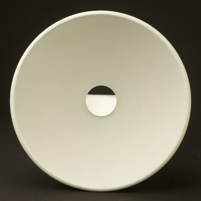 Dome light shade 270mm white reflector