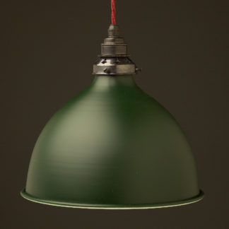 Antique green 270mm dome pendant bronze hardware