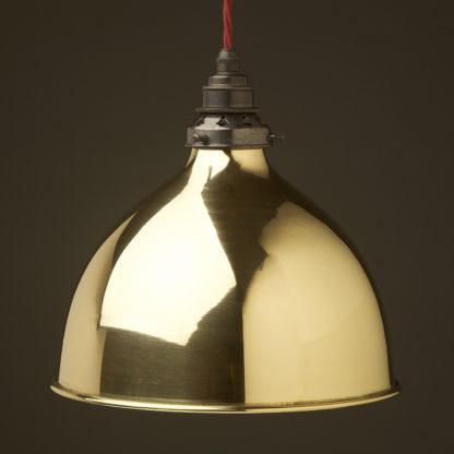 Polished brass 270mm dome pendant bronze hardware