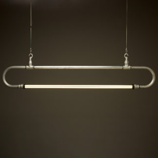 1600 mm one inch pipe loop LED tube light