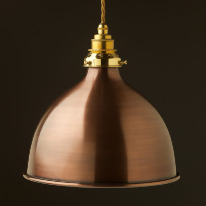 Bronze 270mm dome pendant new brass hardware