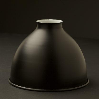 Flat black finish Dome Light Shade