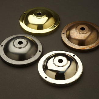 115mm Brass Wall and Ceiling Plate