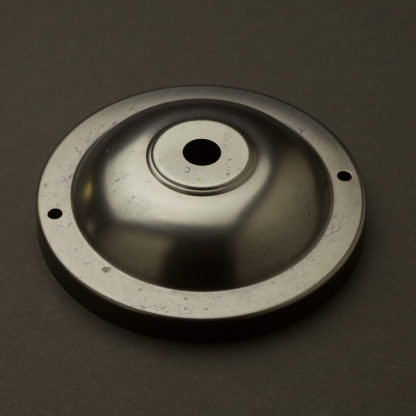 115mm Brass Wall and Ceiling Plate Bronze